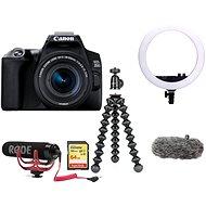 Canon EOS 250D černý + 18-55mm IS STM Vlogger Kit Premium - Digitální fotoaparát