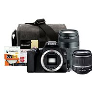 Canon EOS 250D černý + 18-55mm DC III + 75-300mm DC III + Canon Starter Kit 58mm - 32GB