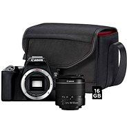 Canon EOS 250D černý + 18-55mm EF-S + fotobrašna SB130 + 16GB paměťová karta - Digitální fotoaparát