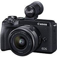 Canon EOS M6 Mark II + 15-45 mm + hledáček EVF - Digitální fotoaparát