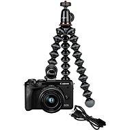 Canon EOS M6 Mark II + 15-45 mm Webcam Kit černý - Digitální fotoaparát