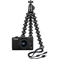 Canon EOS M200 + EF-M 15-45mm IS STM Webcam Kit černý - Digitální fotoaparát