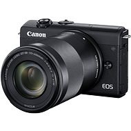 Canon EOS M200 + EF-M 15-45mm f/3.5-6.3 IS STM + EF-M 55-200mm f/4.5-6.3 IS STM