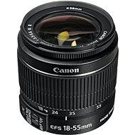 Canon EF-S 18-55mm f/3.5 - 5.6 IS II Zoom černý - Objektiv