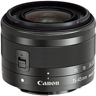 Canon EF-M 15-45mm f/3.5 - 6.3 IS STM Graphite