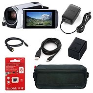 Canon Legria HF R806 kamera bílá - Essential kit - Digitální kamera