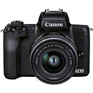 Canon EOS M50 Mark II černý + EF-M 15-45 mm IS STM - Digitální fotoaparát