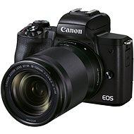 Canon EOS M50 Mark II černý + EF-M 18-150 mm f/3.5-6.3 IS STM - Digitální fotoaparát