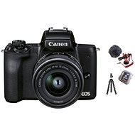 Canon EOS M50 Mark II černý - Vlogger Kit - Digitální fotoaparát