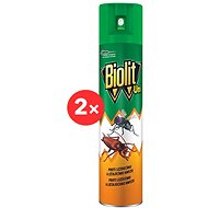 BIOLIT UNI 007 Sprej proti létajícímu a lezoucímu hmyzu 2× 300 ml - Odpuzovač hmyzu