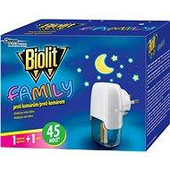 BIOLIT Family elektrický odpařovač s tekutou náplňí 45 nocí 1 + 27 ml - Odpuzovač hmyzu
