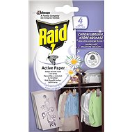 RAID Against Moths, Active Hanging, Fresh Flowers 4 pcs - Insect Repellent