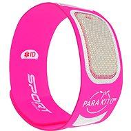PARA'KITO sportovní náramek, růžový + 2 náplně - Náramek proti komárům