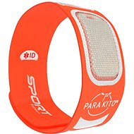 PARA'KITO Sports Bracelet, Orange + 2 Refills - Mosquito Repellent Bracelet