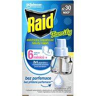 RAID elektrický tekutá náplň Family 21 ml - Odpuzovač hmyzu