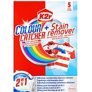 K2R Colour catcher + Stain remover (5 pieces) - Washing Capsules