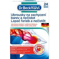 Ubrousky do pračky DR. BECKMANN Ubrousky na zachycení barev a nečistot 24 ks - Ubrousky do pračky