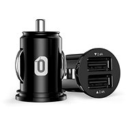 Odzu Car Charger Mini Black - Nabíječka do auta