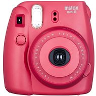 Fujifilm Instax Mini 8 Instant camera malinový Medium Kit - Digitální fotoaparát