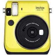 Fujifilm Instax Mini 70 žlutý - Instantní fotoaparát