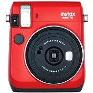 Fujifilm Instax Mini 70 červený - Instantní fotoaparát