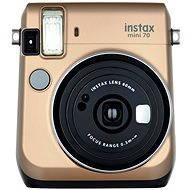 Fujifilm Instax Mini 70 zlatý - Instantní fotoaparát