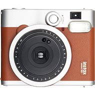 Fujifilm Instax Mini 90 Instant Camera hnědý - Instantní fotoaparát