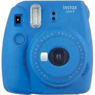 Fujifilm Instax Mini 9 tmavě modrý + film 1x10 - Instantní fotoaparát