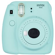 Fujifilm Instax Mini 9 Ice Blue - Instant Camera