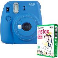 Fujifilm Instax Mini 9 tmavě modrý + 10x fotopapír