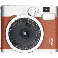 Fujifilm Instax Mini 90 hnědý + 10x fotopapír + pouzdro