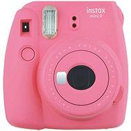 Fujifilm Instax Mini 9 růžový + film 1x10 - Instantní fotoaparát