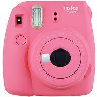Fujifilm Instax Mini 9 růžový + film 1x10 + pouzdro - Instantní fotoaparát
