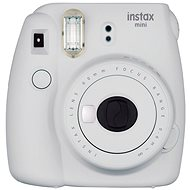 Fujifilm Instax Mini 9 Smoky White - Instant Camera