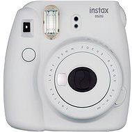 Fujifilm Instax Mini 9 popelavě bílý + film 1x10 - Instantní fotoaparát