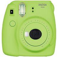 Fujifilm Instax Mini 9 limetkový + film 1x10 + pouzdro - Instantní fotoaparát