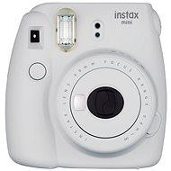 Fujifilm Instax Mini 9 popelavě bílý - Instantní fotoaparát