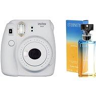 Fujifilm Instax Mini 9 popelavě bílý + CALVIN KLEIN Eternity Summer 2017 EdP 100 ml - Instantní fotoaparát