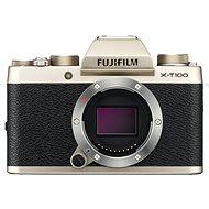 Fujifilm X-T100 tělo zlatý - Digitální fotoaparát