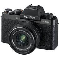 Fujifilm X-T100 černý + XC 15-45mm f/3.5-5.6 OIS PZ - Digitální fotoaparát