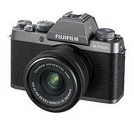 Fujifilm X-T100 stříbrný + XC 15-45mm f/3.5-5.6 OIS PZ - Digitální fotoaparát