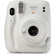 Fujifilm Instax Mini 11 popelavě bílý - Instantní fotoaparát