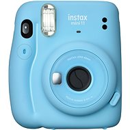 Fujifilm Instax Mini 11 modrý - Instantní fotoaparát