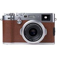 FUJIFILM FinePix X100F + Peak Design Slide Lite hnědý - Digitální fotoaparát