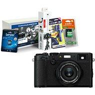 FUJIFILM FinePix X100F černý + Fujifilm Foto Starter Kit - Digitální fotoaparát