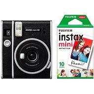 Fujifilm Instax Mini 40 + 10x fotopapír - Instantní fotoaparát
