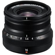 Fujifilm Fujinon XF 16mm f/2.8 R WR černý - Objektiv