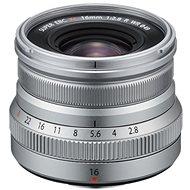Fujifilm Fujinon XF 16mm f/2.8 R WR stříbrný - Objektiv