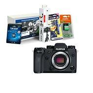 Fujifilm X-H1 tělo černý + Fujifilm Foto Starter Kit - Digitální fotoaparát