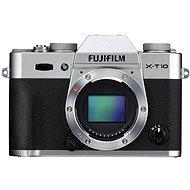 Fujifilm X-T10 Silver - Digitální fotoaparát